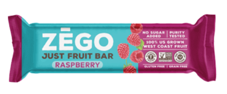 Zego Just Fruit Bars | Flavorpalooza